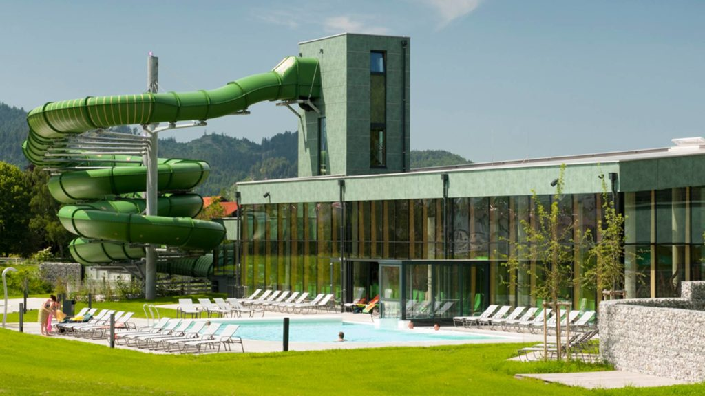 Die Alpentherme Reutte öffnet am 10.6.2021 ihre Pforten.